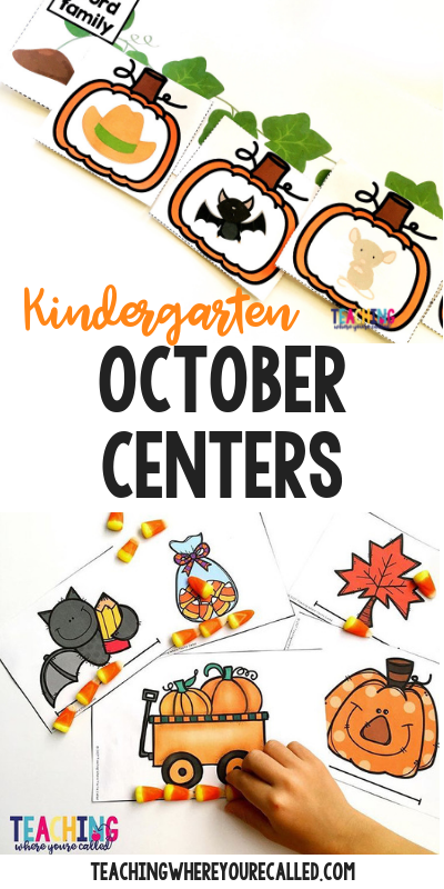 Help your pre-K, kindergarten, and 1st grade students engage in Math and Literacy activities with these October themed printables. Work on beginning sounds, word families, non-standard measurement, sums of 10, and more! These centers and worksheets are perfect for math and literacy centers, small groups, and more!!